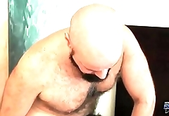 Daddy and twink make love