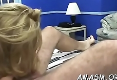 Hot hotties enjoying lesbo moments in smothering scenes