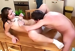 Cousin Blowing Me Under Thanksgiving Table - WWW.FAPLIX.COM