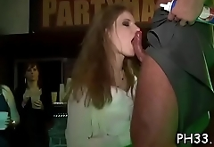 Wild fuck allover the night club everybody having natty juicy group sex