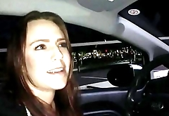 Uber driver blowjobs and gags BBC