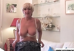 Big tits granny playing with dildo on cam - Wanna see more? Join hotcamgirls69.com