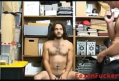 Officer fucks this beautiful young man- KINKY