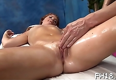 Sexy sizzling gets a cunt massage then fucked hard!