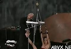 Flaming naked spanking and amateur extreme bondage porn