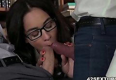 Double penetration in stockings