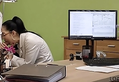 LOAN4K. Teen office worker gets new experience having sex for cash