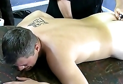 Vibrator inserted and Coreys toes and feet start tremoring
