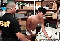 Latin shoplifter jizzing