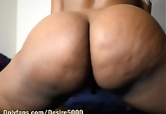 Ass covered in Silk