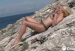 Jenna Lovely Gets Naughty At The Beach