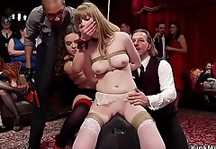 Double penetration for bdsm swingers