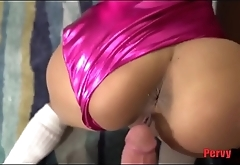 Dad fucks daughter'_s cheerleading pussy WTF